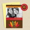Shown with optional banana envelope & matching return address label