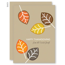 Thanksgiving Cards | Fall Leaves