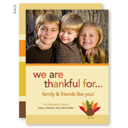 Thanksgiving From Us Thanksgiving Invitation
