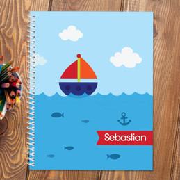 Sailing the Blue Ocean Kids Notebook
