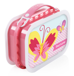 Smiley Butterfly Personalized Yubo Lunchbox
