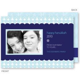 Hanukkah Circles Card