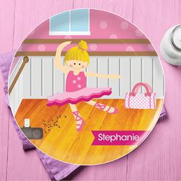 Ballerina Studio Kids Plates