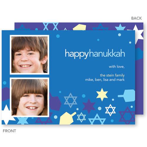 Happy Hanukkah Cards | Collage Of Stars