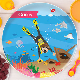 Under The Sea Kids Plates