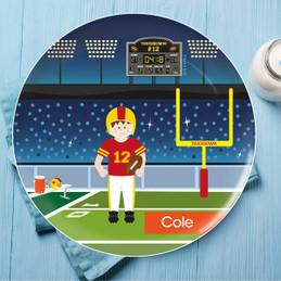 Touchdown Kids Plates