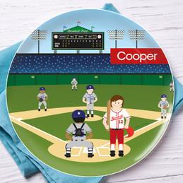 Home Run Kids Plates