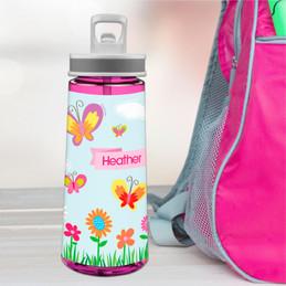 A Butterfly World Sports Water Bottle