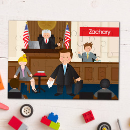 Legally Correct Boy Personalized Puzzles