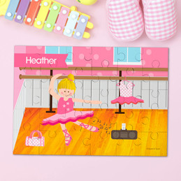 Ballerina Studio Personalized Puzzles by Spark & Spark