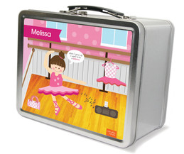 Ballerina Studio Metal Lunchbox
