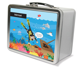 Under the Sea Metal Lunchbox