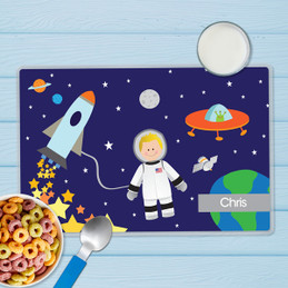 Fly to the Moon Kids Placemat