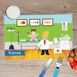Boy Doctor's visit Placemat