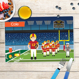 Touchdown Kids Placemat