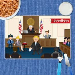 Legally Correct Boys Kids Placemat