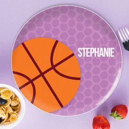 Basketball Fan Kids Dinnerware