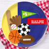 My Love For Sports Personalized Dishes