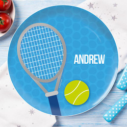 Tennis Fan Kids Dinnerware