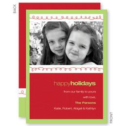 Xmas Loops Christmas Photo Cards