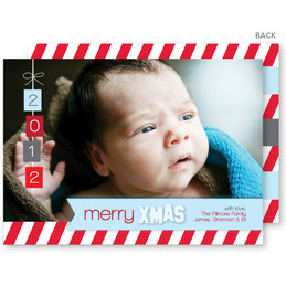 holiday cards custom printed | Winter Bliss Christmas Photo Cards by Spark & Spark