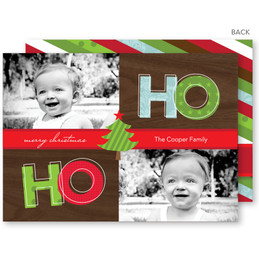 personalised christmas cards | It's Christmas Time Christmas Photo Cards by Spark & Spark