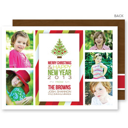 christmas postcards | Holiday Frames Christmas Photo Cards by Spark & Spark