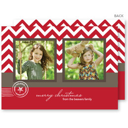 merry christmas card | A Holiday Post Christmas Photo Cards by Spark & Spark