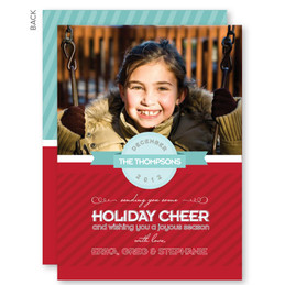Custom Holiday Cards | A Merry Kind of Way Christmas Photo Cards by Spark & Spark