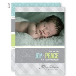 Personalized Christmas Cards | Soulful Swirls Christmas Photo Cards by Spark & Spark