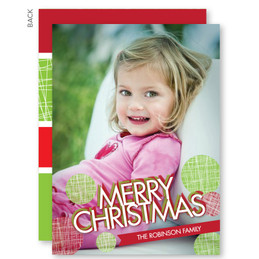 photo personalized christmas cards | Big and Merry Christmas Photo Cards by Spark & Spark