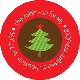 It's Christmas Time Christmas Address Labels