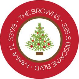 Holiday Frames Christmas Address Labels