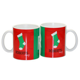 Her Fun Xmas stockings Ceramic Mug