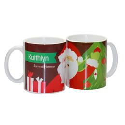 Fun Santa Ceramic Mug
