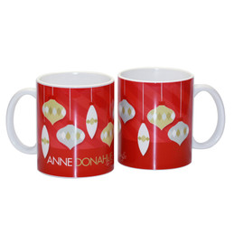 Modern Xmas Ornaments Ceramic Mug