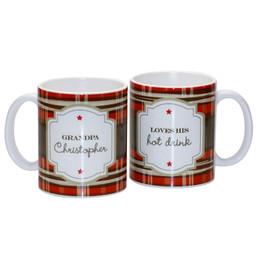Preppy Style Ceramic Mug