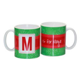 Bold Initial Ceramic Mug
