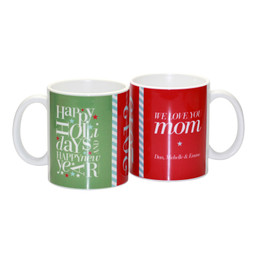 Fun Letter Zig Zag for Mom Ceramic Mug