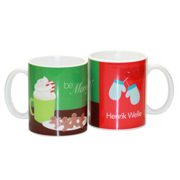 Hot Cocoa & Cookies Ceramic Mug