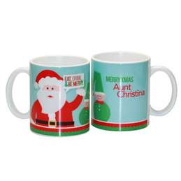 Be Merry Ceramic Mug