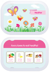 Personalized faceplates - A Butterfly World