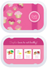 Personalized faceplates - Sweet Cupcakes