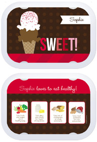 Personalized faceplates - Sweet & Yummy