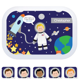 Everyday Heroes faceplates - Fly to the Moon (6 ethnicities)
