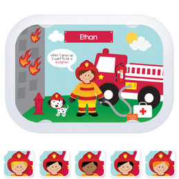 Everyday Heroes faceplates - Call a Firefighter (6 ethnicities)