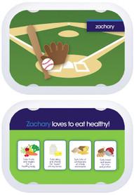 Personalized faceplates - Baseball Fan