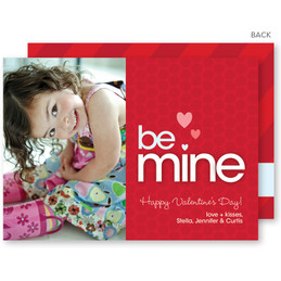 Be Mine Valentine's Day Cards