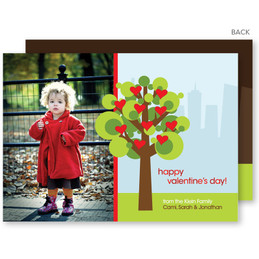 Happy Valentines Day Card | A Tree For Valentines