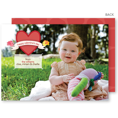 Personalized Valentines Day Cards   Birdies For Valentine